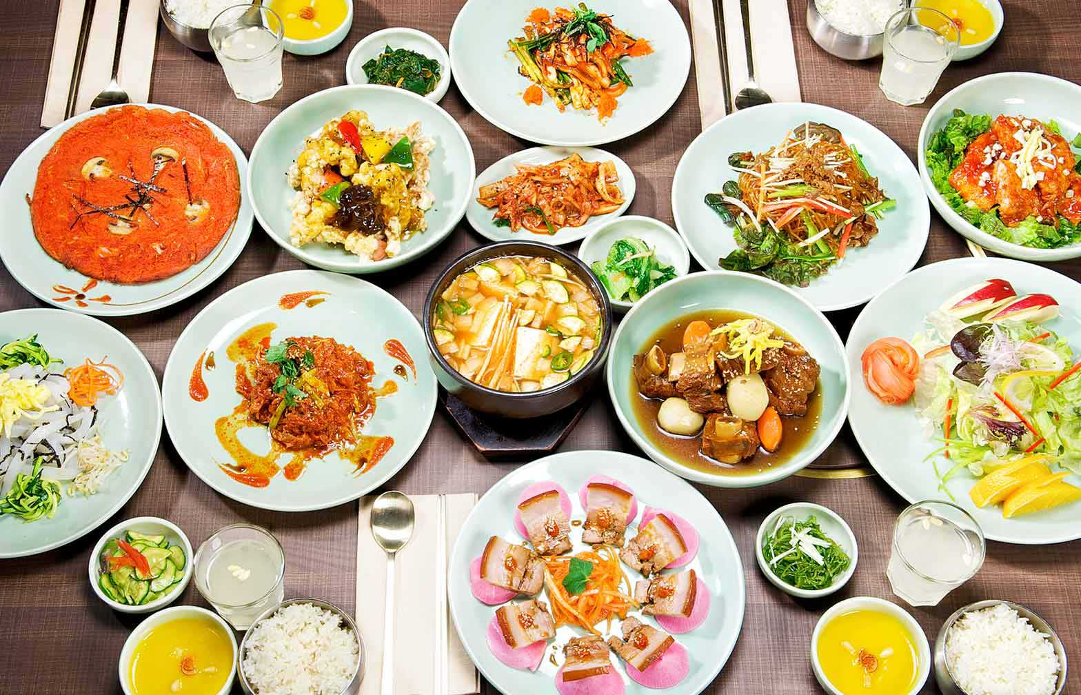 Sura korean royal cuisine restaurant menu vancouver for Cuisine restaurant