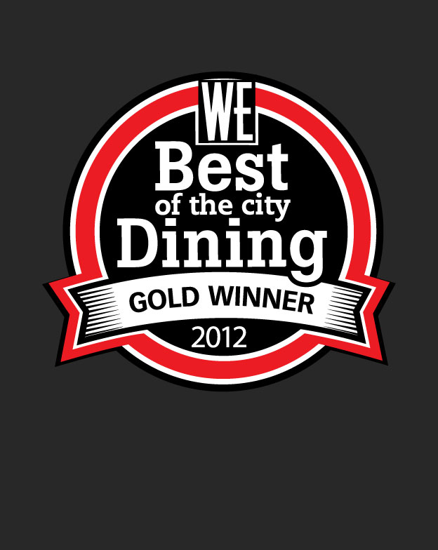 WE Vancouver's Best of the City Dining 2012