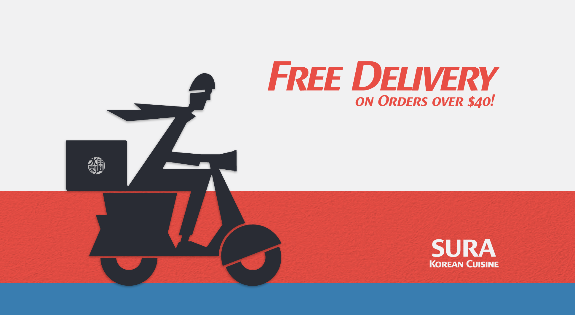 Free Delivery on Orders over $40!
