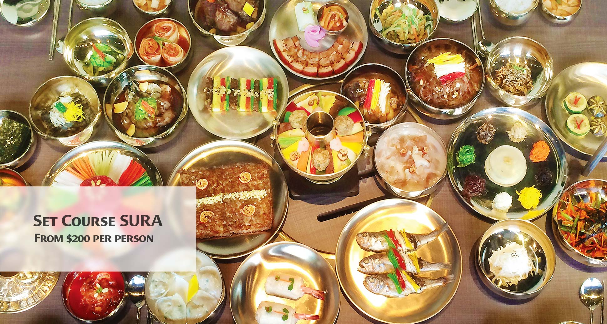 Sura korean royal cuisine restaurant news wonderful for Cuisine korean