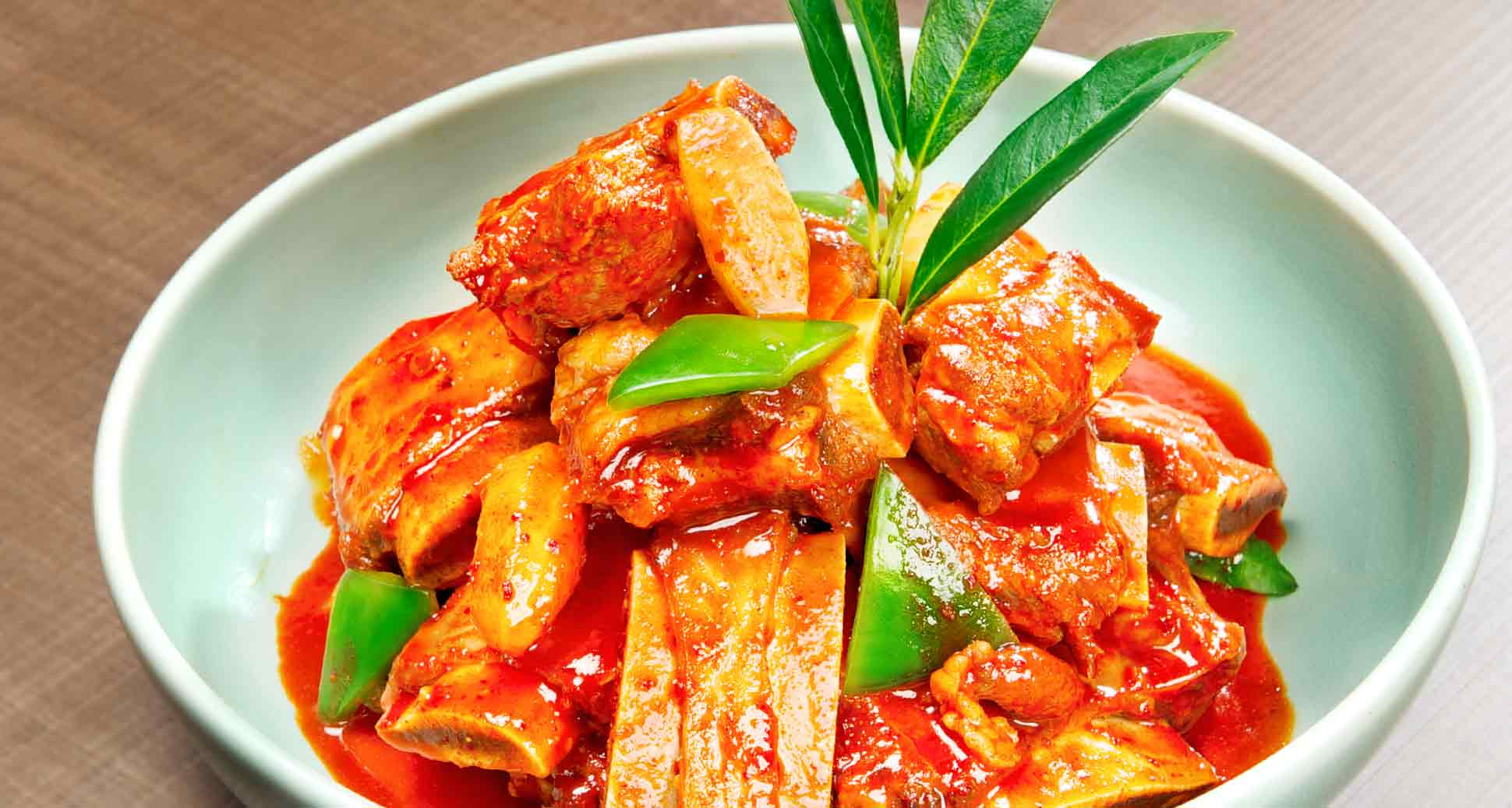 Sweating out to actually cool down: spicy galbi–jjim