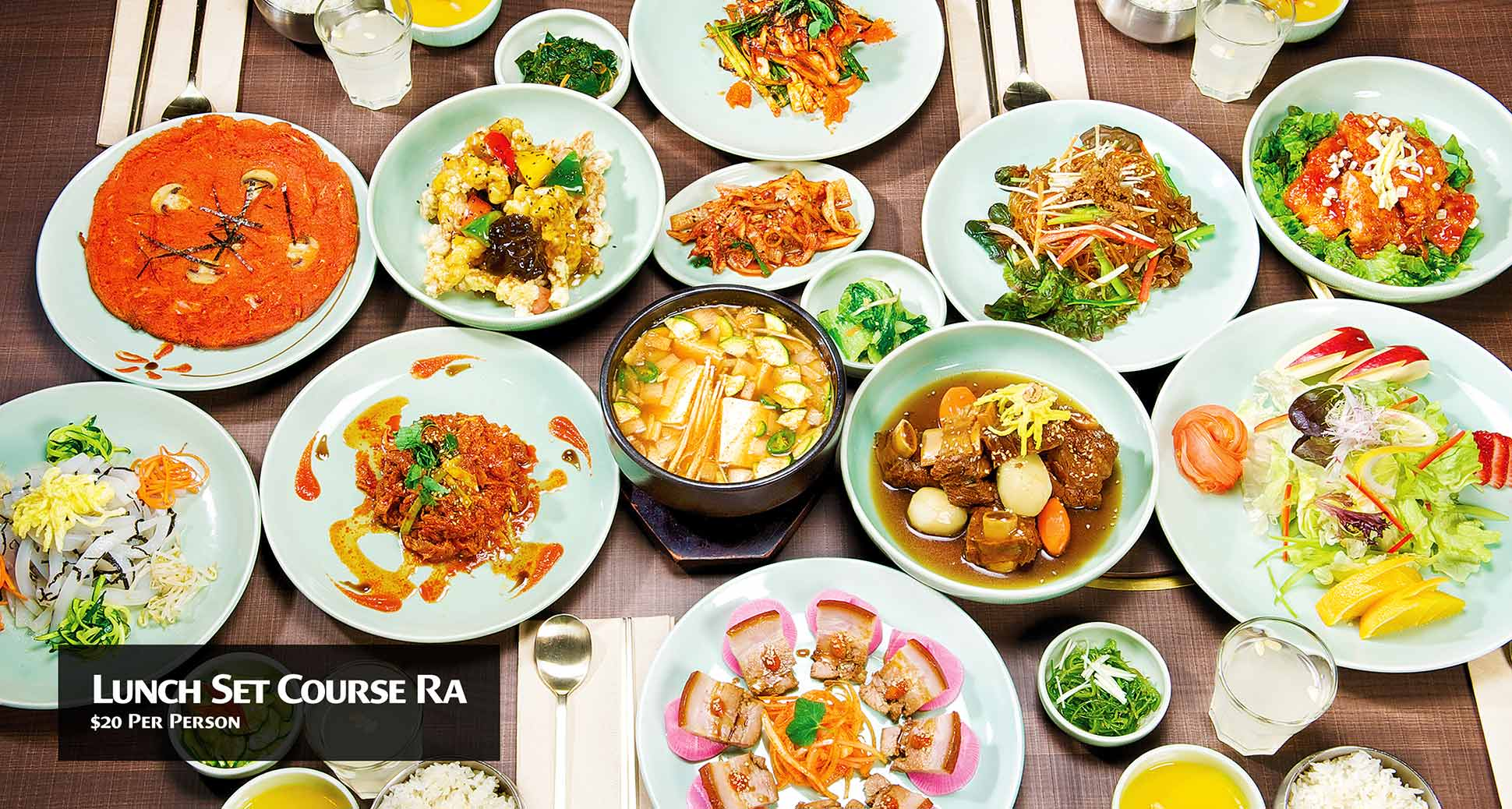 Come and enjoy the last long weekend of summer at sura korean Cuisine!