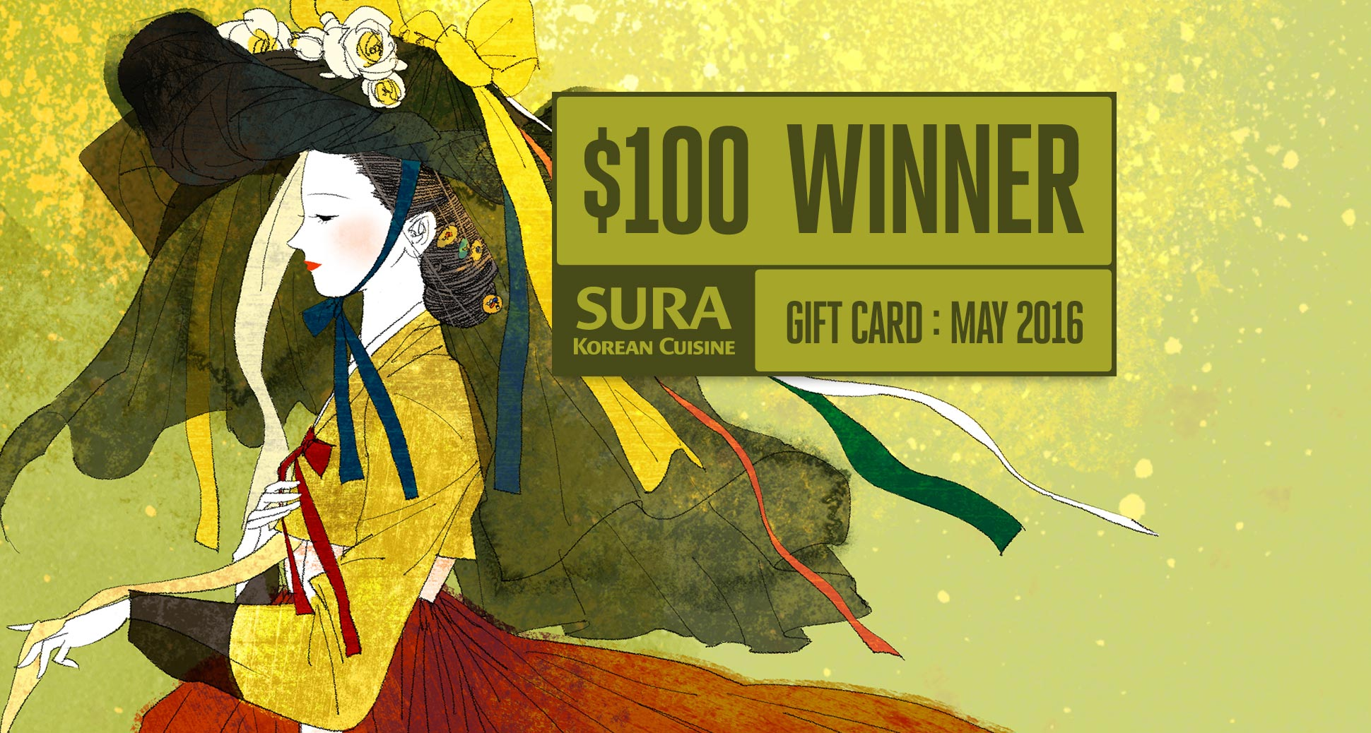 The winner of our may-2016 monthly draw for a $100 gift card is Lan Phuong!