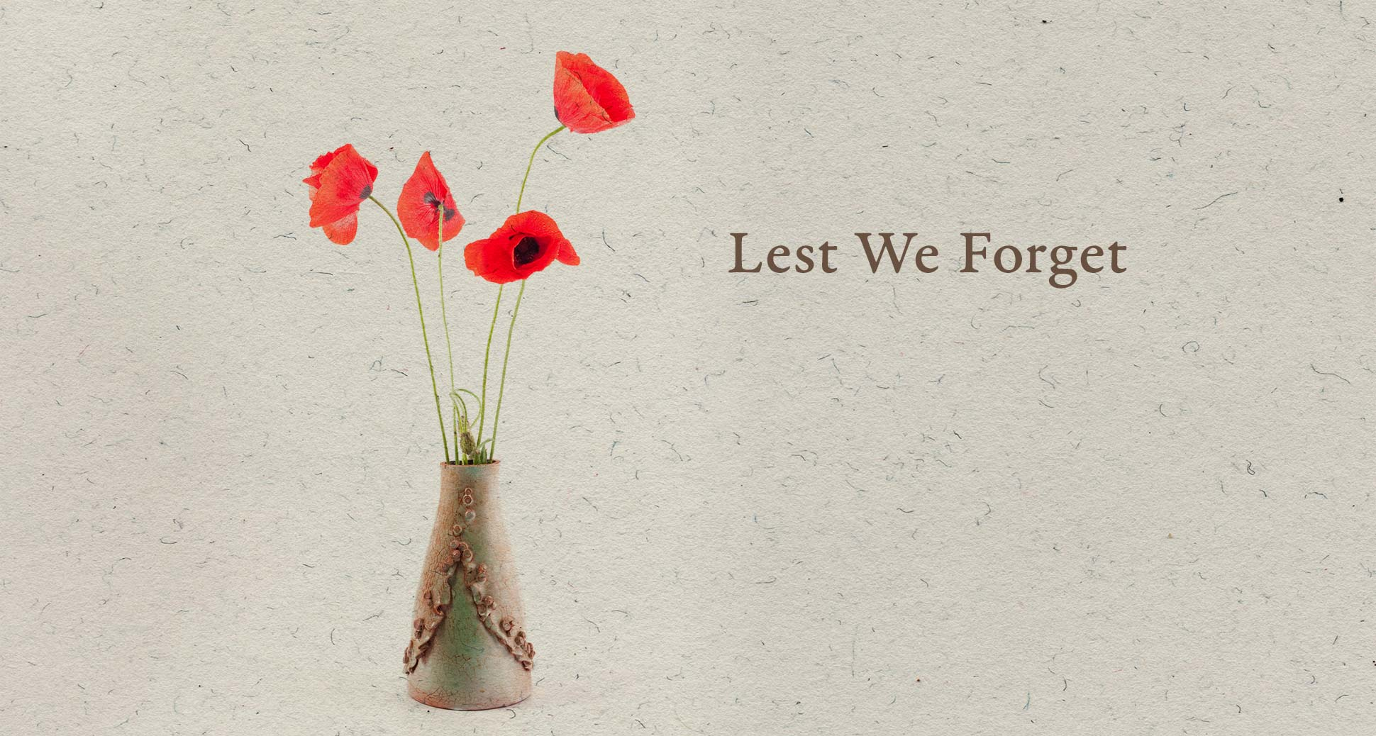 We're open on Remembrance Day