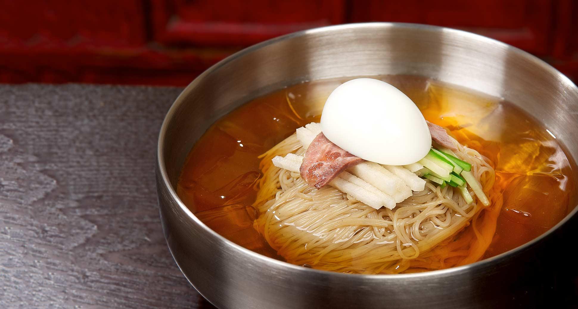 Naeng-Myeon, a great dish for this glorious Summer season