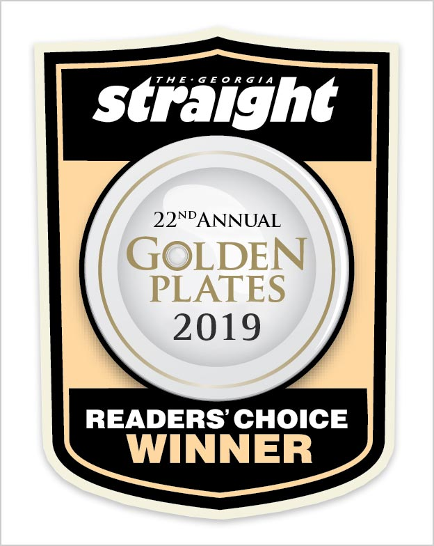 Georgia Straight Annual Golden Plates 2019
