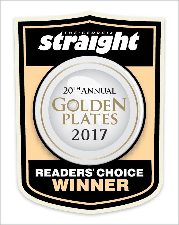 Georgia Straight Annual Golden Plates 2017