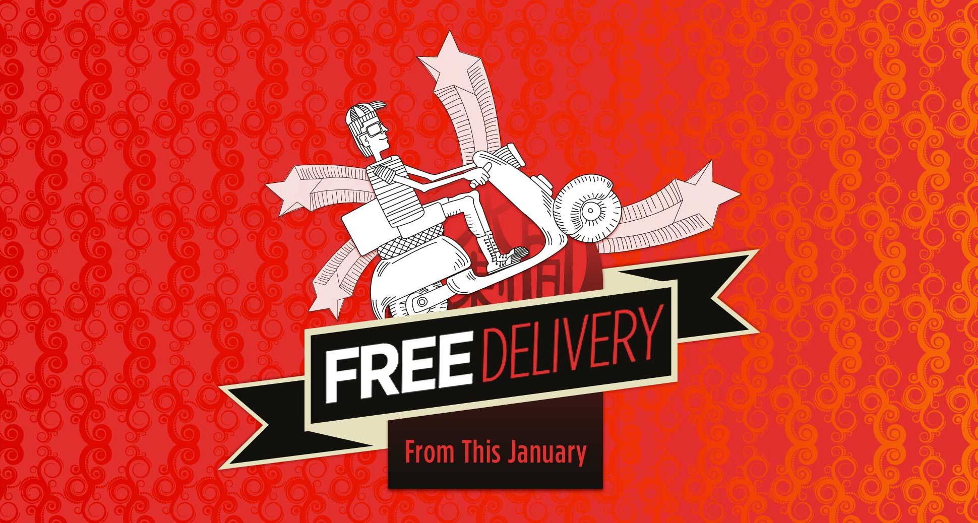 Free Delivery for Orders over $40!