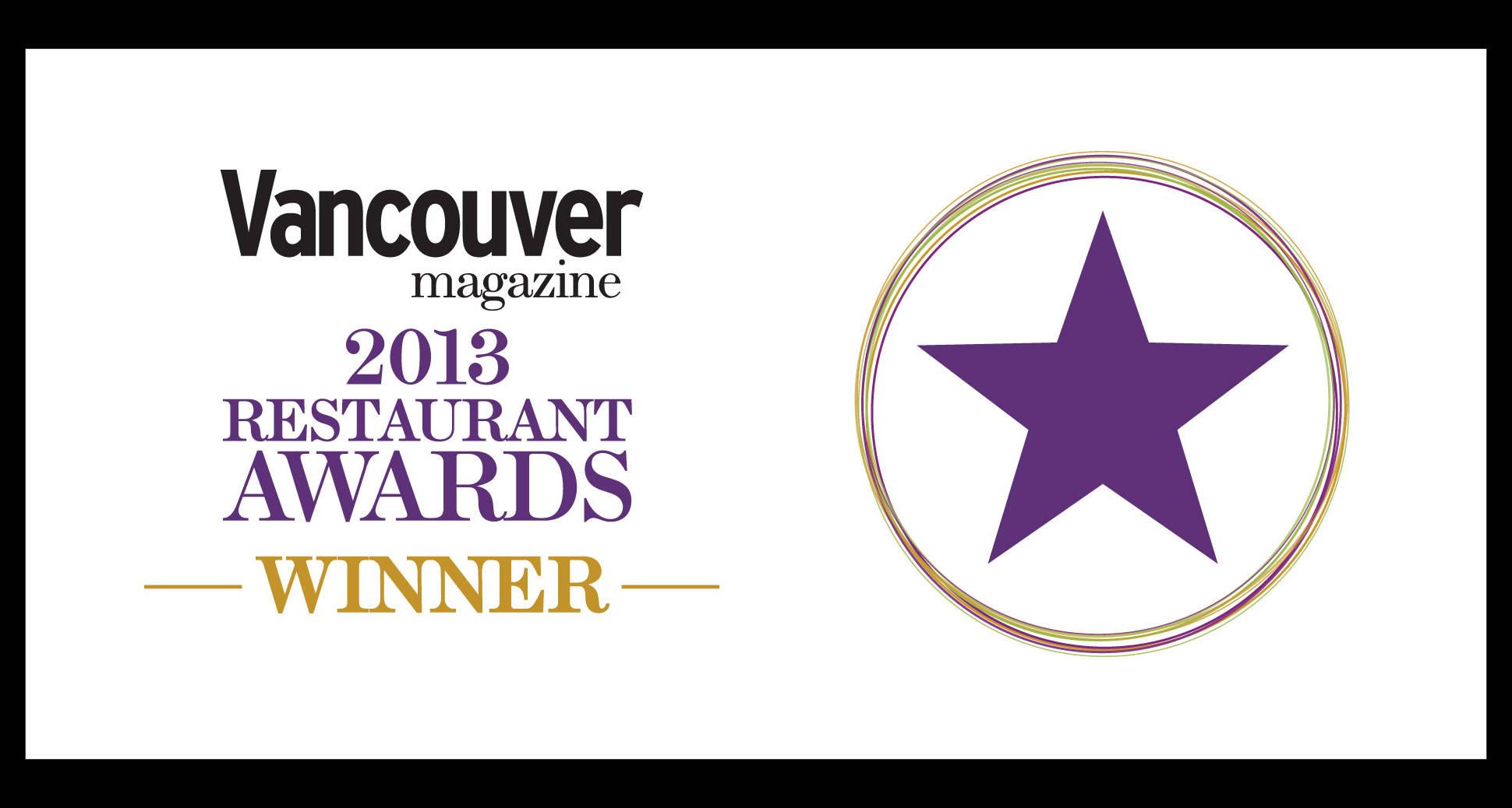 Sura is the best Korean gold winner of Vancouver magazine's 2014 restaurant awards!