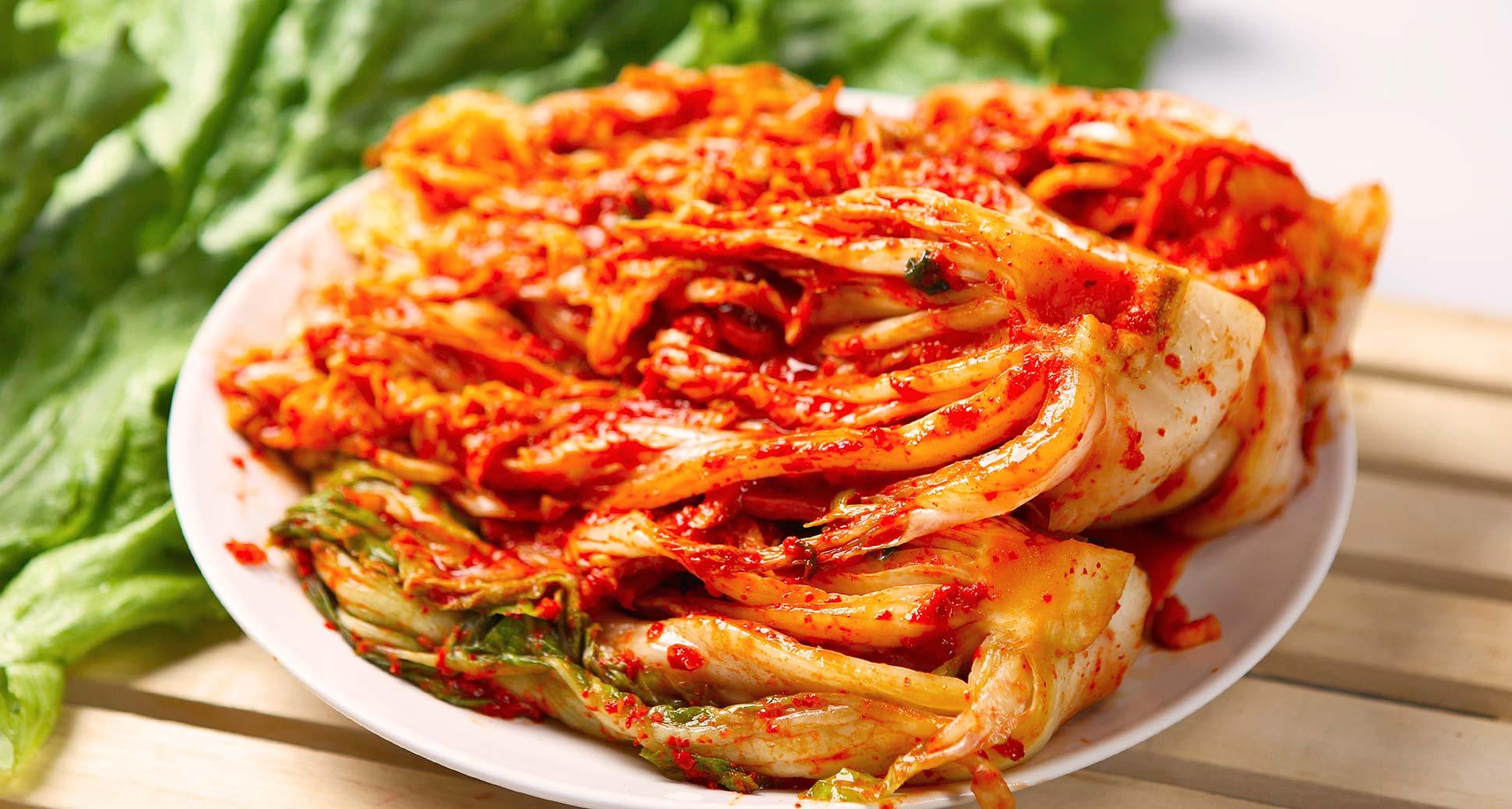 Korea's greatest food, kimchi!